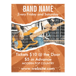 Band Name Music Flyer 2