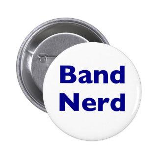 Band Nerd 6 Cm Round Badge