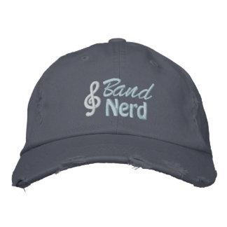 Band Nerd Embroidered Baseball Caps