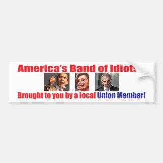Band of Idiots Bumper Sticker