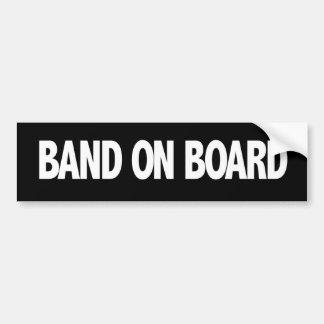 Band On Board Bumper Sticker