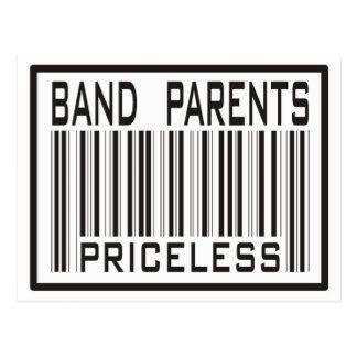 Band Parent Priceless Postcard