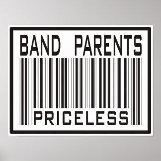 Band Parent Priceless Print