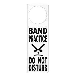 Band Practice Do Not Disturb Door Hanger