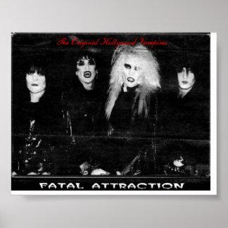 Band print, The Original Hollywood Vampires Poster