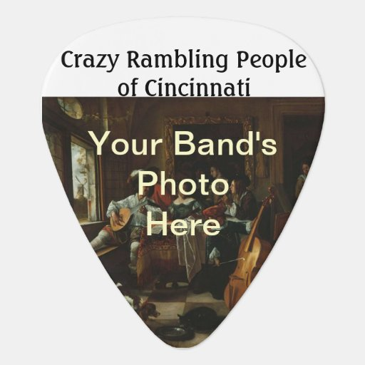 Band Promotional Giveaway Guitar Pick