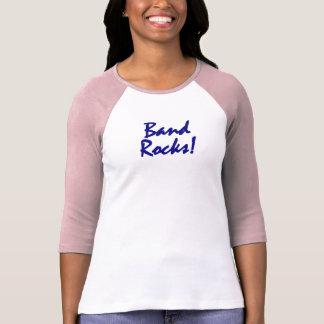 Band Rocks - Oboes Blue Lettering T-Shirt