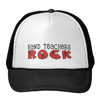 Band Teachers Rock Tshirts and Gifts Cap
