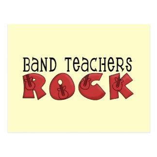 Band Teachers Rock Tshirts and Gifts Postcard