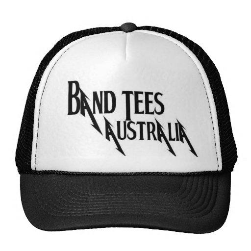 Band Tees Australia Cap Trucker Hats