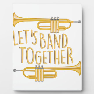 Band Together Display Plaques