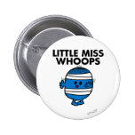 Bandaged Little Miss Whoops 6 Cm Round Badge