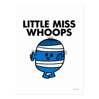 Bandaged Little Miss Whoops Postcard