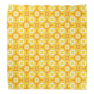 Bandana Geometric 318 Golden Yellow