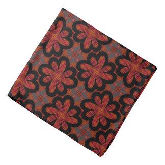 Bandana Jimette black and gray red Design