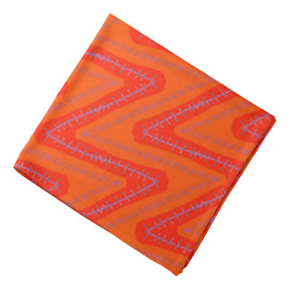Bandana Jimette Design let us tons of orange