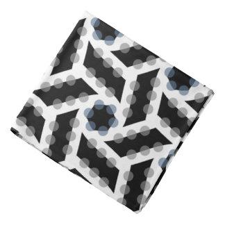 Bandana Jimette gray and black Design on white