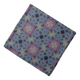 Bandana Jimette gray and blue pink Design