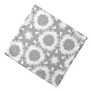 Bandana Jimette gray and white Design