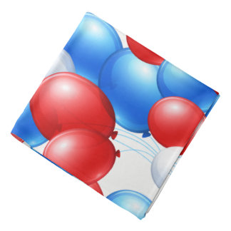 Bandana-Patriotic Balloons Do-rags
