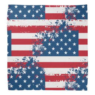 Bandana-Patriotic Flag Print Do-rag