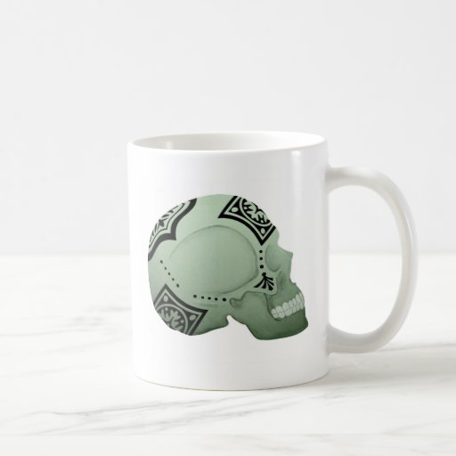 Bandana Skull - Skeleton Art Coffee Mugs