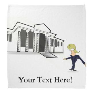 Bandana - TRUMP'S WHITE HOUSE VIRGIN VISIT