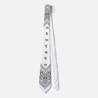 Bandana White Tie 2