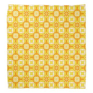 Bandanna Geometric 318 Golden Yellow