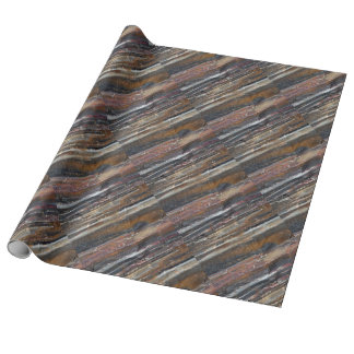 Banded Iron Formation Wrapping Paper