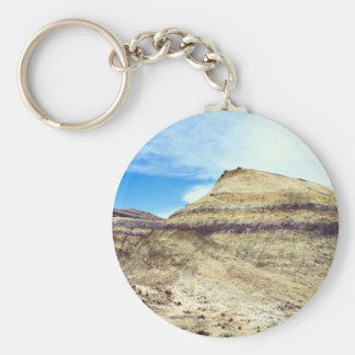 Banded mound, Big Bend National Park, Texas, U.S.A Keychains