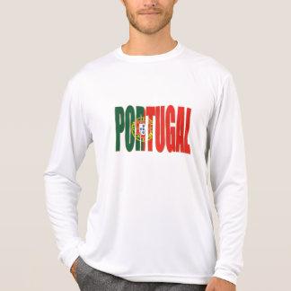 "Bandeira Portuguesa - Marca ""Portugal"" por Fãs Shirts"