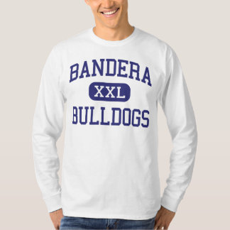 Bandera Bulldogs Middle School Bandera Texas T-Shirt
