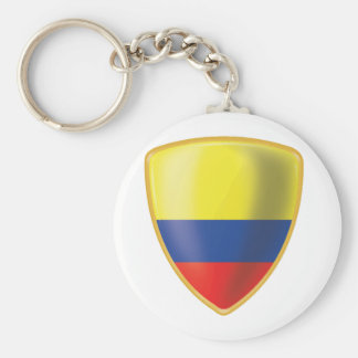 Bandera colombiana keychain