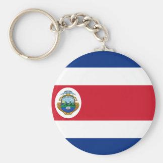 Bandera de Costa Rica - Flag of Costa Rica Key Ring