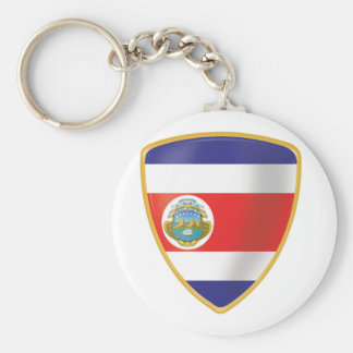Bandera de Costa Rica Keychain