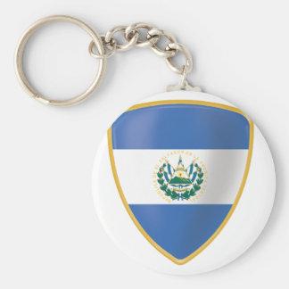Bandera de El Salvador Keychain