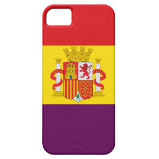 Bandera de la República Española Barely There iPhone 5 Case