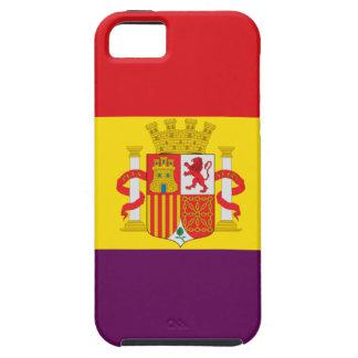 Bandera de la República Española Tough iPhone 5 Case