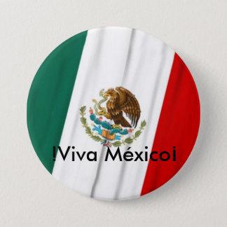 Bandera de México 7.5 Cm Round Badge