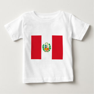 Bandera del Perú - Flag of Peru Baby T-Shirt