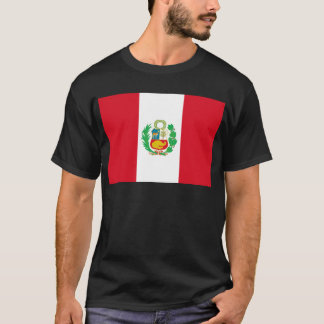 Bandera del Perú - Flag of Peru T-Shirt