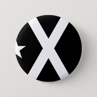 Bandera Negra - Estelada Catalunya Flag 6 Cm Round Badge