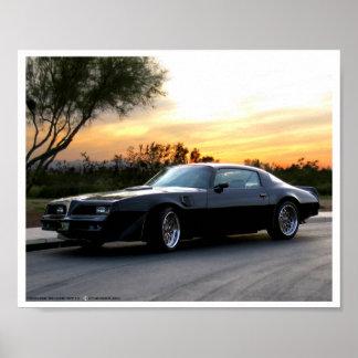 Bandit in the Arizona Sunset Poster
