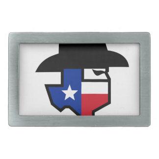 Bandit Texas Flag Icon Belt Buckles