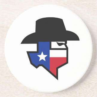 Bandit Texas Flag Icon Coaster