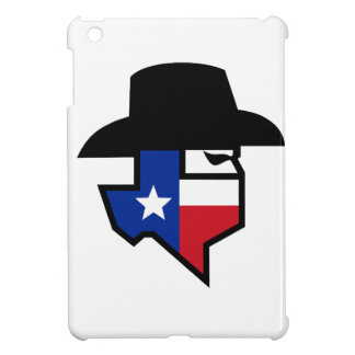 Bandit Texas Flag Icon iPad Mini Cover
