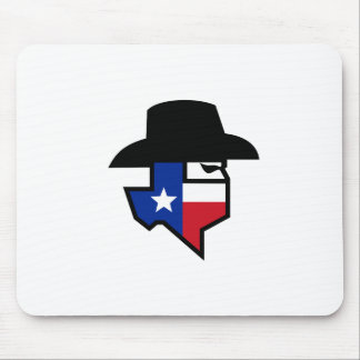 Bandit Texas Flag Icon Mouse Pad