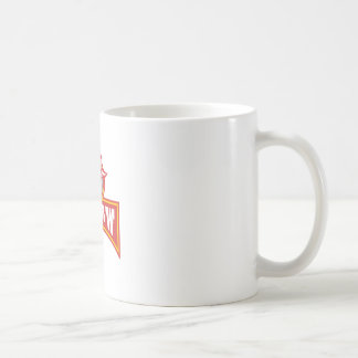 Bandit With Outlaw Text Retro Coffee Mug