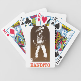 bandito bicycle playing cards